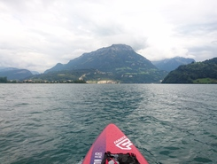 Brunnen SZ paddle board spot in Switzerland