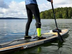 Vesijärvi paddle board spot in Finland