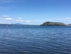 Lago Di Bolsena paddle board spot in Italy