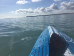 Pevensey Bay paddle board spot in United Kingdom