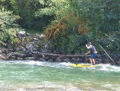 Gave d'Oloron spot de stand up paddle en France