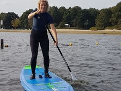 zuidlaardermeer paddle board spot in Netherlands