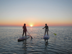 sassi neri sitio de stand up paddle / paddle surf en Italia