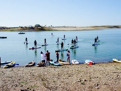 Alqueva  sitio de stand up paddle / paddle surf en Portugal