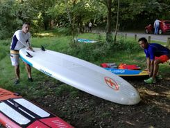 chessy-base nautique de chalifert paddle board spot in France