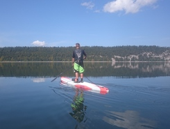 Lac de Joux - Le Pont paddle board spot in Switzerland