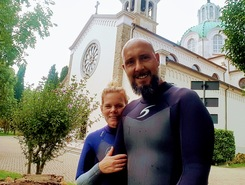 Wallfahrtskirche Santa Maria di Barbana paddle board spot in Italy