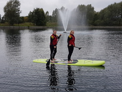 Doncaster Lakeside paddle board spot in United Kingdom