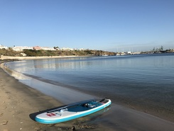 Praia Sines spot de stand up paddle en Portugal