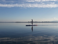 Chiemsee  sitio de stand up paddle / paddle surf en Alemania