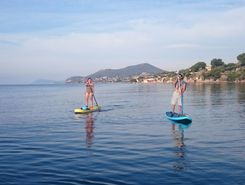 Stella  Maris paddle board spot in France