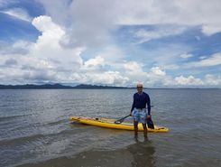 taborcillo paddle board spot in Panama