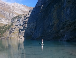 Oeschinensee  spot de stand up paddle en Suisse