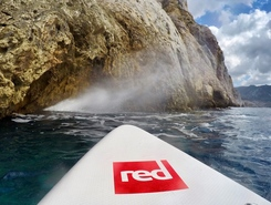 Costa sud Ovest Sardegna paddle board spot in Italy