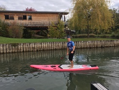 Canal de Savières spot de stand up paddle en France
