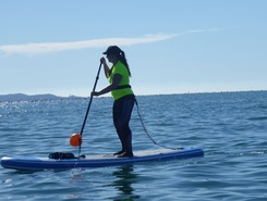 Muggia, Trieste paddle board spot in Italy