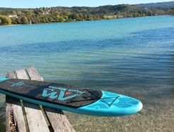 clairvaux paddle board spot in France