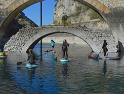 san domenico paddle board spot in Italy