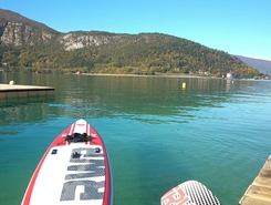 doussard  paddle board spot in France