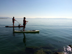 St. Blaise sitio de stand up paddle / paddle surf en Suiza