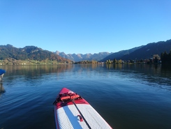 Sihlsee sitio de stand up paddle / paddle surf en Suiza