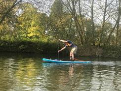 Riverside carpak sitio de stand up paddle / paddle surf en Reino Unido