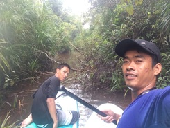 Source of Kbal Chhay Waterfall spot de stand up paddle en Cambodge