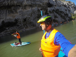 adige spot de stand up paddle en Italie