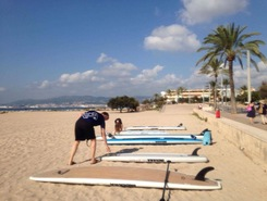 Bay of Palma spot de stand up paddle en Espagne