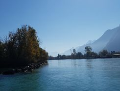 les grangettes  paddle board spot in Switzerland