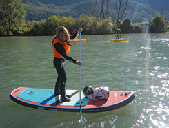 adige paddle board spot in Italy