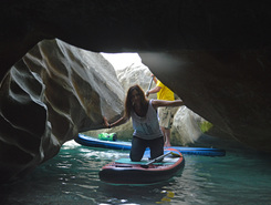 sassi neri paddle board spot in Italy