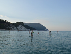 due sorelle paddle board spot in Italy