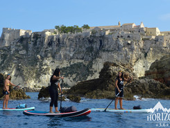 tremiti paddle board spot in Italy