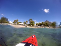 Tamarin sitio de stand up paddle / paddle surf en Mauricio