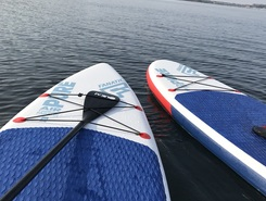 Ich  sitio de stand up paddle / paddle surf en Alemania