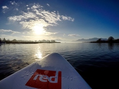 Chiemsee spot de stand up paddle en Allemagne