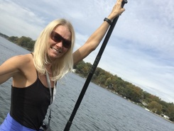 Lake James and Jimmerson  paddle board spot in United States