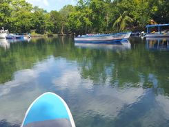 rio san juan paddle board spot in Dominican Republic