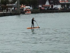 Touques paddle board spot in France