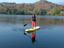 Sirio lake spot de stand up paddle en Italie
