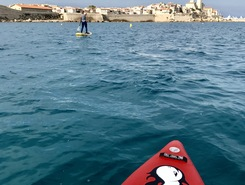 Vieil antibes spot de stand up paddle en France