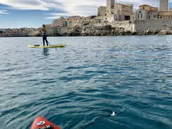 Vieil antibes sitio de stand up paddle / paddle surf en Francia