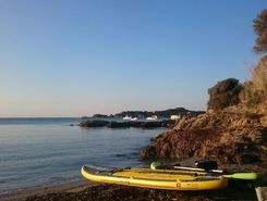 giens madrague paddle board spot in France