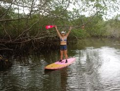 Capri sitio de stand up paddle / paddle surf en Brasil