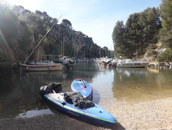 Calanque D'En Vau spot de stand up paddle en France