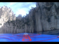 Les calanques sitio de stand up paddle / paddle surf en Francia