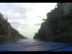Les calanques spot de stand up paddle en France