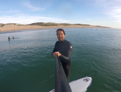Horizon cap ferret sitio de stand up paddle / paddle surf en Francia