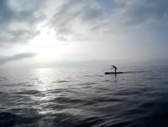 El Castillo Sohail paddle board spot in Spain